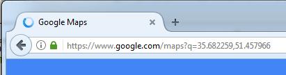 نمایش موقیت بر روی google map با sim800