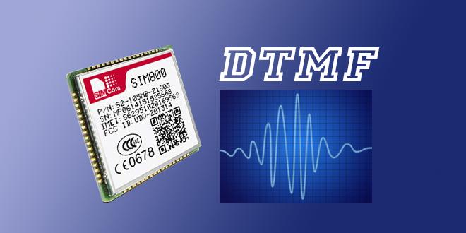 فعال سازی dtmf ماژول sim800