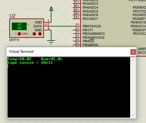 راه اندازی سنسور dht22 , dht11 با بسکام