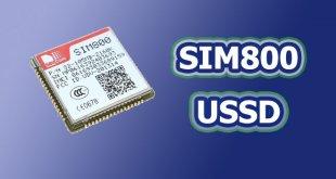 USSD ماژول SIM800