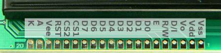پایه های lcd گرافیکی ks108