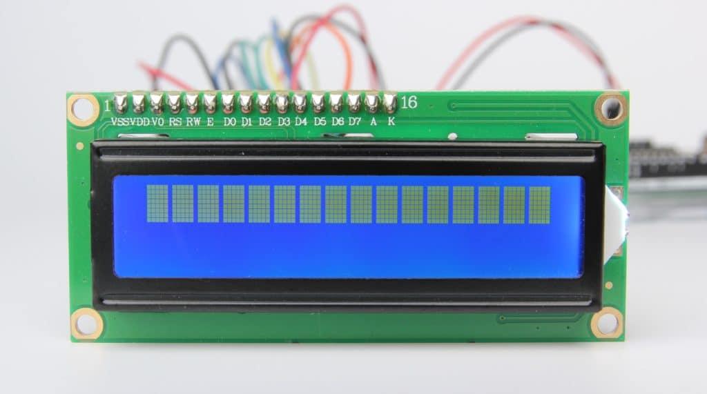راه اندازی lcd کاراکتری 16*2