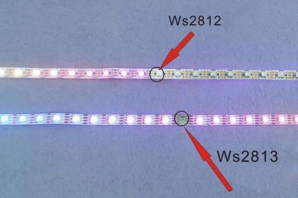 تفاوت WS2812 و WS2813
